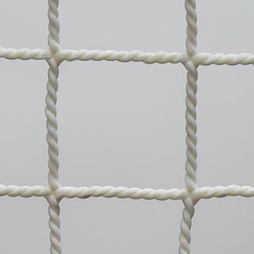 【別注品】 防炎ポリプロピレン18mm角ホワイト