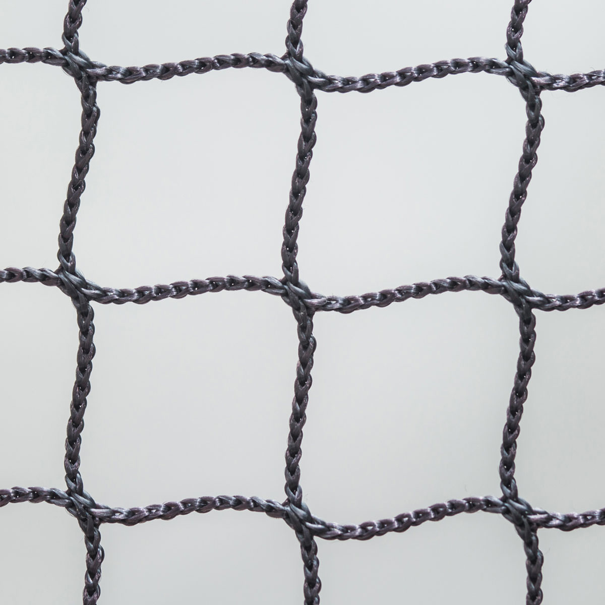 【規格サイズ品】難燃ポリエステル25mm角グレー