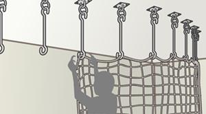 Sカン吊り下げ式に適したネット