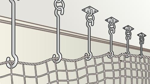 Sカン吊り下げ式金具