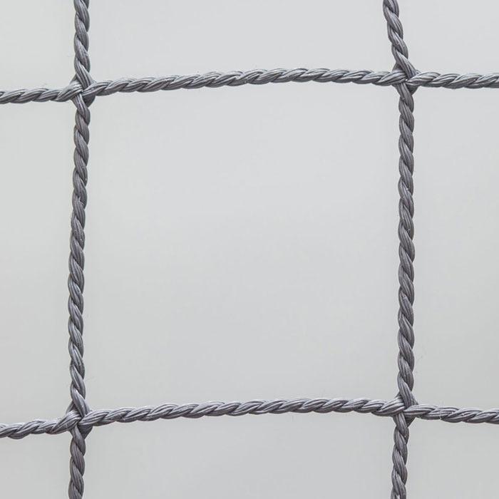 【別注品】 防炎ポリエチレン40mm角グレー